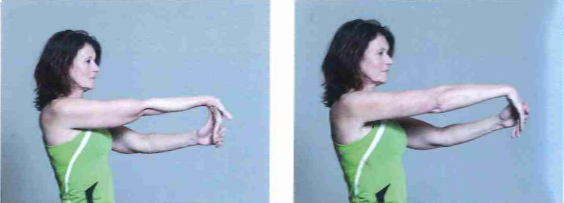 Lower arm stretch