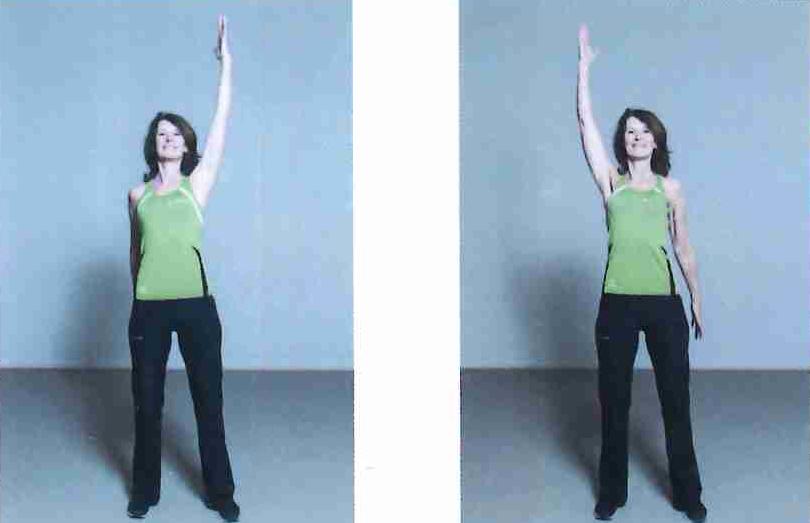 Alternating arm swing